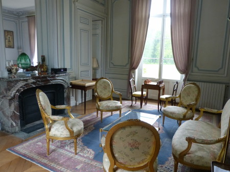 Reception room(Chateau du Breuil)